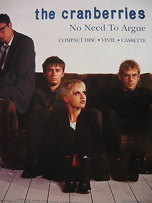 The Cranberries - Magazine Cutting (Full Page Advert) (Ref Sd)