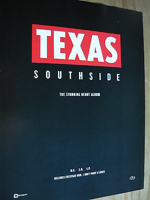 Texas - Magazine Cutting (Full Page Advert) (Ref Sn)