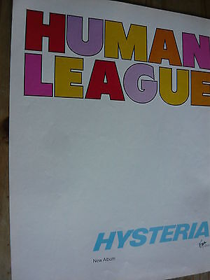 The Human League - Magazine Cutting (Full Page Advert) (Ref T11)