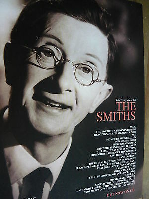 The Smiths - Magazine Cutting (Full Page Advert) (Ref T19)