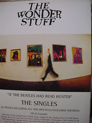 The Wonder Stuff - Magazine Cutting (Full Page Advert) (Ref Sd)