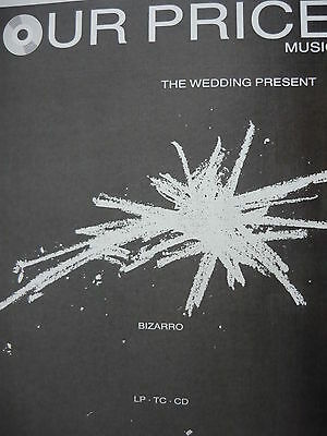 The Wedding Present - Magazine Cutting (Full Page Advert) (Ref Sf)