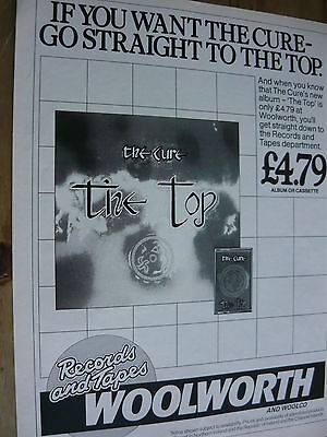 The Cure - Magazine Cutting (Full Page Advert) (Ref T11A)
