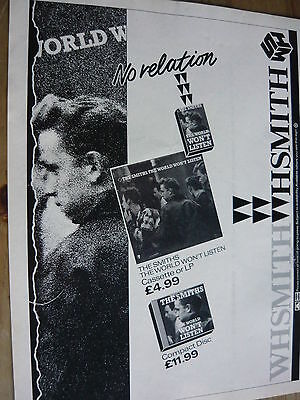 The Smiths - Magazine Cutting (Full Page Advert) (Ref T11)