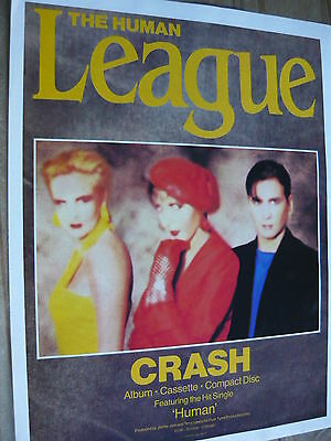 The Human League - Magazine Cutting (Full Page Advert) (Ref T11B)