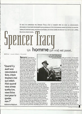 Spencer Tracy / 1999 Article Presse Reportage Magazine
