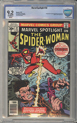 Marvel Spotlight # 32  1st appearance of Spider-Woman !  CBCS 9.2 scarce book !!