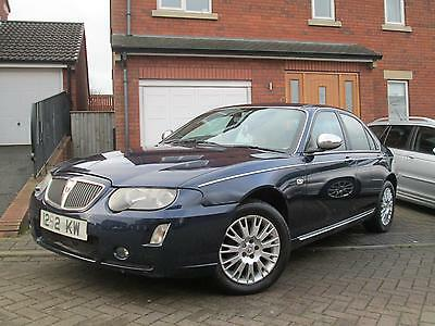 Rover 75 2.0 CDTi Connoisseur SE - Blue - Charcoal Leather with Contrast Piping