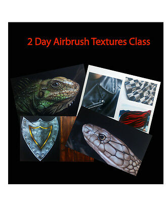 Airbrush 2 Day Textures Lesson With Xtreme Paint Studio