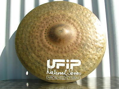 "UFIP 16"" Natural Series Medium Thin Crash"