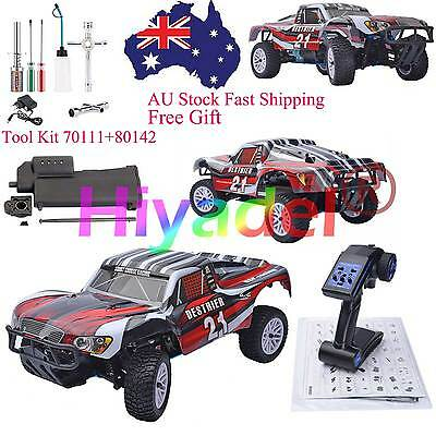 HSP 94155 1/10 RC Truck 4WD Nitro Powered RTR Short Course 2.4G Transmitter SEL3