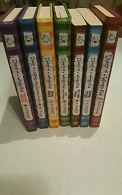 Diary of a Wimpy Kid set 7 Books Series Jeff Kinney