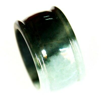 100% Natural Jadeite ( A Jade ) Ring Size - US 12.5 ( Untreated ) L2025