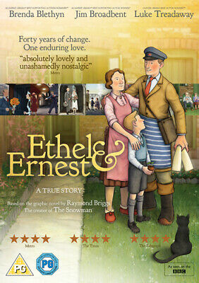 Ethel & Ernest DVD (2017) Roger Mainwood ***NEW***