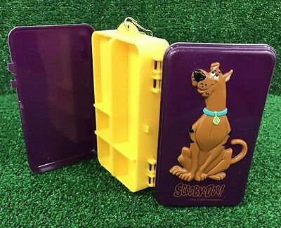 Vintage 2004 Hanna Barbera Scooby Doo Shakespeare Snack Lunch Tackle Toy Box