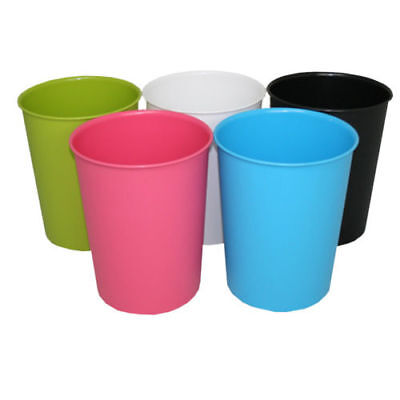 JVL Vibrance Waste Paper Bin Dustbins Available In A Range Of Colours