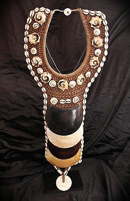Collar ceremonial (Nueva Guinea - Papua - New Guinea) Ceremonial Necklace -