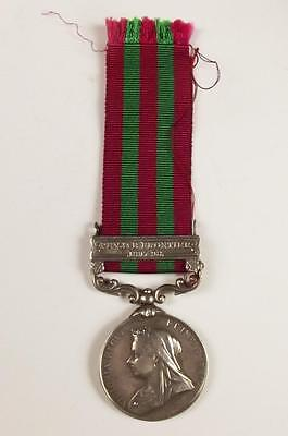 Victorian India Medal 1895 With Punjab Frontier Clasp