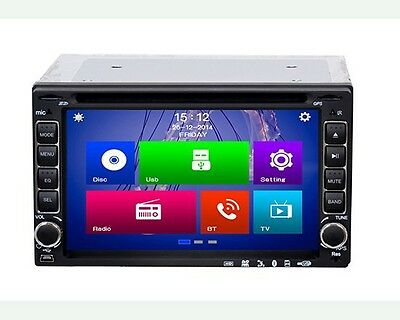 Media Player Auto 6206 Lettore Dvd Radio Sd Cd Usb 2 Din Touch Screen 16:9 hsb