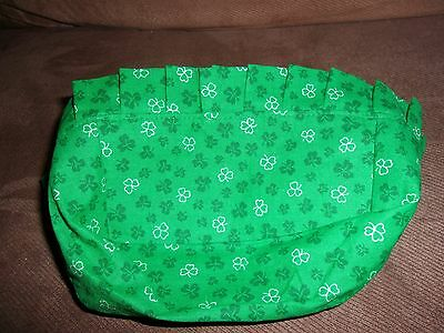 Longaberger Chives Booking Basket Liner - Custom Shamrock