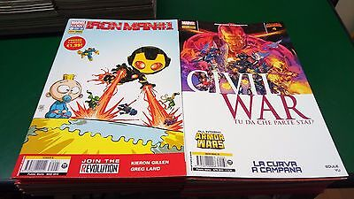 Iron Man Marvel Now - serie completa 1/36 - Panini Comics SC43