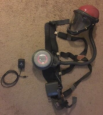 3M Battery Operated GVP-100 Belt Mounted PAPR with Mask and Charger And Harness