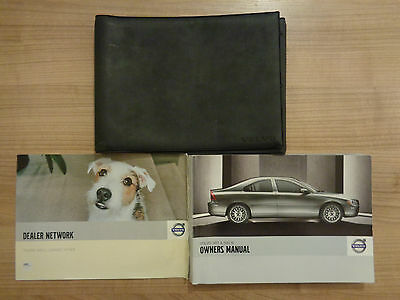 Volvo S60/S60R Owners Handbook/Manual and Wallet 04-09