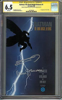 Batman: The Dark Knight Returns #1 CGC 6.5 FN+ SIGNED MILLER JANSON Carrie Kelly