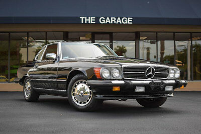1989 Mercedes-Benz 500-Series 560 Series 2dr Coupe 560SL Roadster 1989 Mercedes Benz SL560, 18585 miles,Flawless Palomino Leather,Blk Soft & Hardt