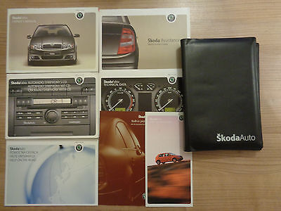 Skoda Fabia Owners Handbook/Manual and Pack 05-07
