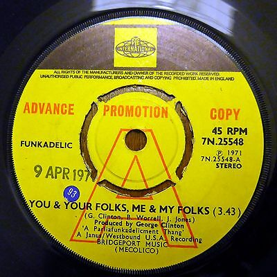 Funkadelic, George Clinton Promo. You And Your Folks   Sampled By Lil Wayne