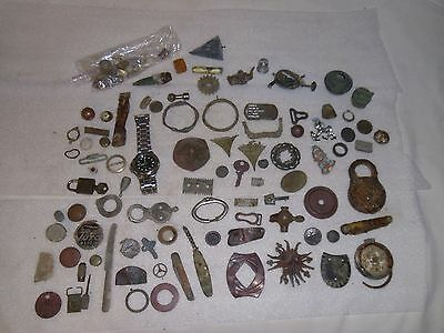 Dug Lot Artifacts Metal Detecting Finds Central Indiana Lot #4