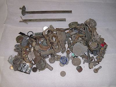 6 Pounds Dug Lot Artifacts Metal Detecting Finds Central Indiana Lot #1