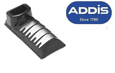 Addis Plate Rack Dish Cutlery Caddy Sink Drainer Kitchen Organizer Black Plastic