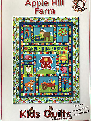 Apple Hill Farm Child's Single/twin Applique Quilt Pattern By Kids Quilts