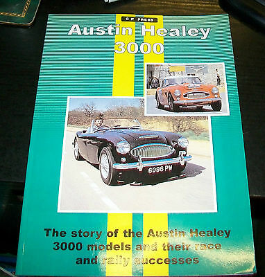 AUSTIN HEALEY 3000 & THEIR RACE & RALLY SUCCESSES. Inc MOTOR TRADER SERVICE DATA