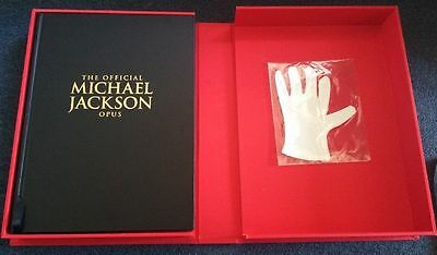 The Official Michael Jackson Opus Book - Leather Bound - Brand New - Rare