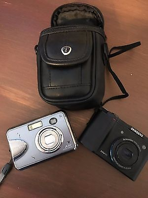 Digital Camera lot ***PARTS ONLY**** SAMSUNG AND FUJI