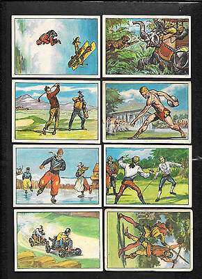 TIGER HUNTING #19 1964 CHIX Confectionery Co. SPORT THROUGH THE AGES VERY RARE
