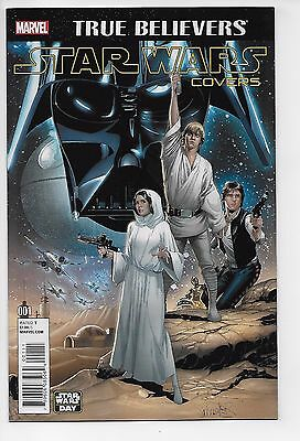 Star Wars Covers #1 - True Believers Edition (Marvel, 2016) New/Unread (VF/NM+)