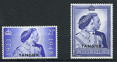 Weeda GB Offices in Morocco 525-526 Tangier VF mint NH KGVI set of 2 CV $23.10