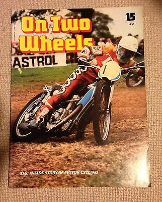 Motorcycle magazine On Two Wheels 15 Peter Collins Grass track interest