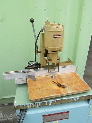 Nice! Challenge Machinery Model Jo 1/4 Hp Single Spindle Paper Drill