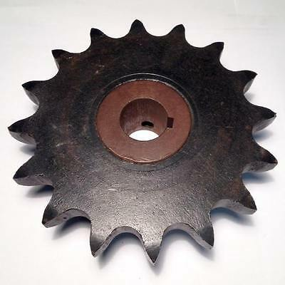 """#80 Roller Chain Sprocket 80BS16 1"""" 8016 80B16 1"""" Bore w/ Keyway (NEW) (BC3)"""