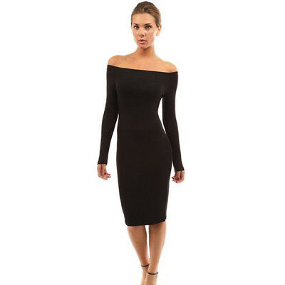 Women Summer Casual Long Sleeve Bodycon Evening Party Cocktail Short Mini Dress