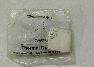 Thermal Dynamics 9-5619 Tip NEW 5 pcs