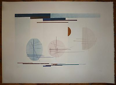 Kandinsky Vassily lithographie sur velin abstraction art abstrait Bahaus
