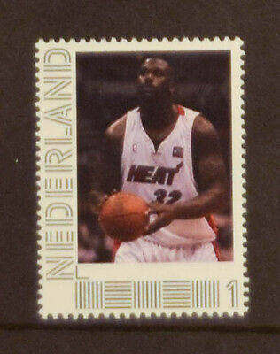 Netherlands 2016 Famous Basketbalplayers Shaquille ONeal (MNH) (005)