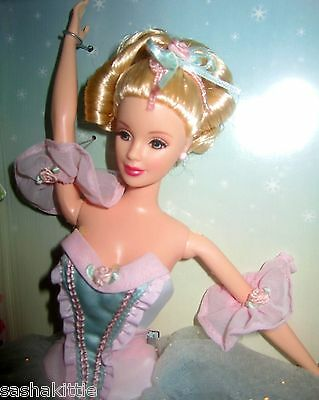 Classic Ballet Series BARBIE AS MARZIPAN IN THE NUTCRACKER NRFB MINT #2