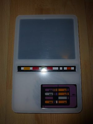 Star Trek DS9 Dominion War PADD Prop replica unpainted kit with printed graphics
